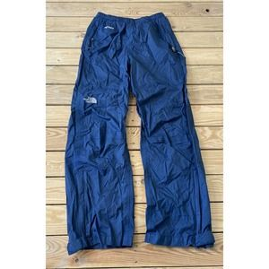 THE NORTH FACE Blue Waterproof Snow Shell Pants M